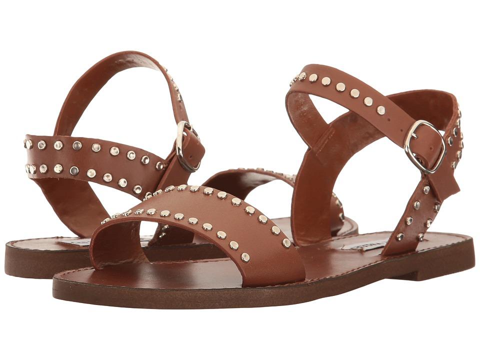 Steve Madden Donddi-S (Tan Leather) Women
