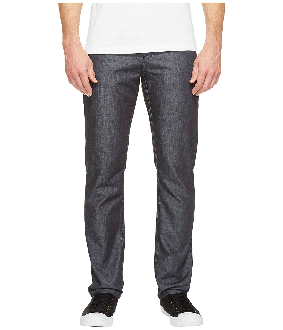 Perry Ellis - Slim Lightweight Denim Pants in Dark Grey (Dark Grey) Men's Jeans