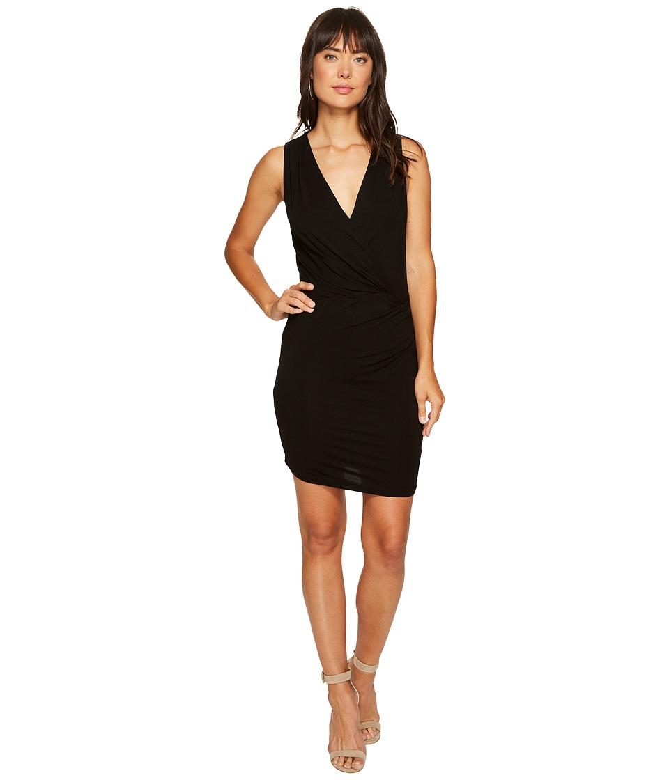 Young Fabulous & Broke Karenna Dress (Solid Black) Women