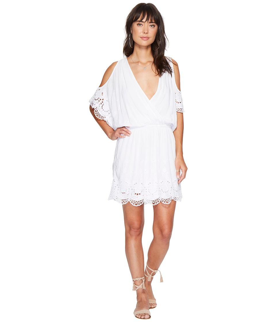Young Fabulous & Broke - Colette Dress (White) Women's Dress