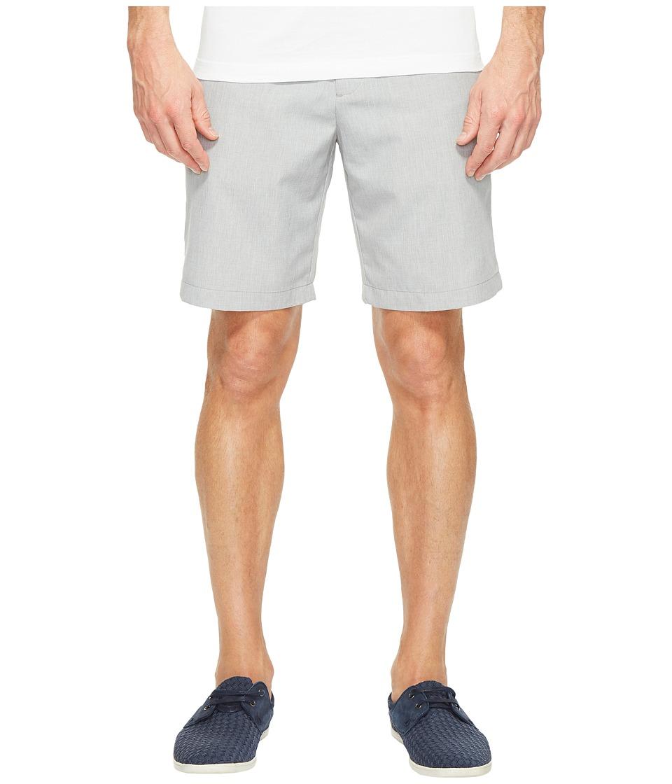 Perry Ellis - Chambray Tech Shorts (Alloy) Men's Shorts