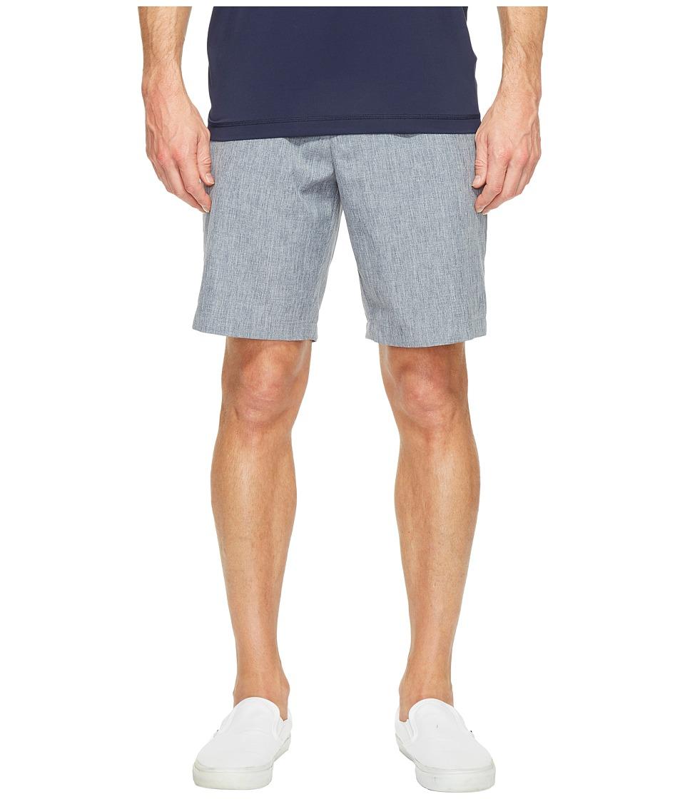 Perry Ellis - Chambray Tech Shorts (Dark Sapphire) Men's Shorts