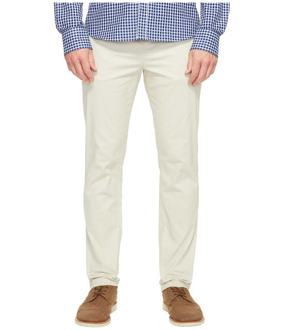 Perry Ellis - Stretch Five-Pocket Bedford Chino Pants (Stone) Men's Casual Pants