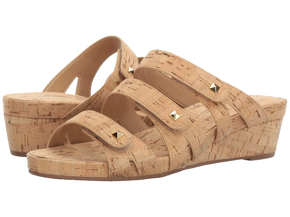 Vaneli - Karen (Natural Cork) Women's Sandals