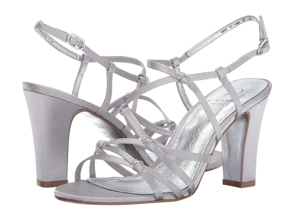 Adrianna Papell Adelson (Silver Classic Satin) Women