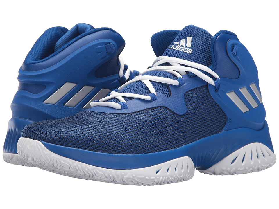 adidas Explosive Bounce (Royal/Silver/Navy) Men\u0027s Basketball Shoes