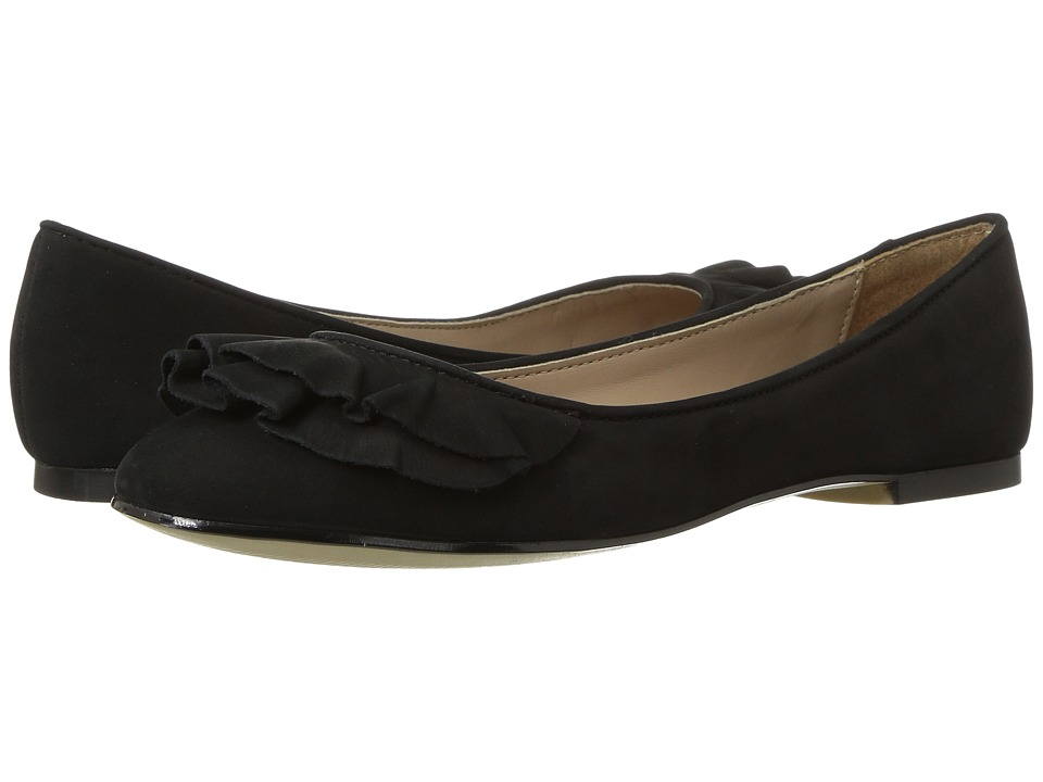 Steve Madden - Cannon (Black Nubuck) Women's Slip on Shoes