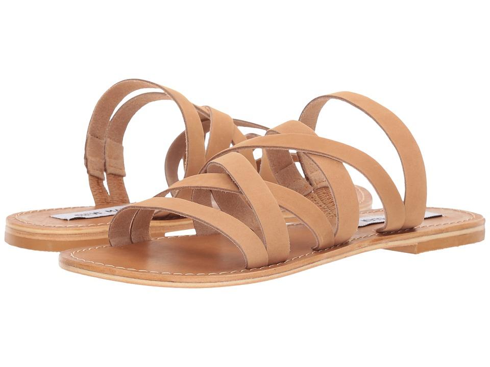 Steve Madden - Campbell (Tan Leather) Women's Sandals