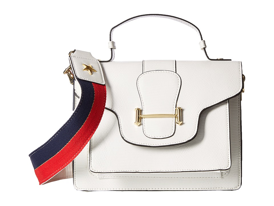 Circus by Sam Edelman - Scout Crossbody Bag (White/Red/Blue/Red Blue) Cross Body Handbags