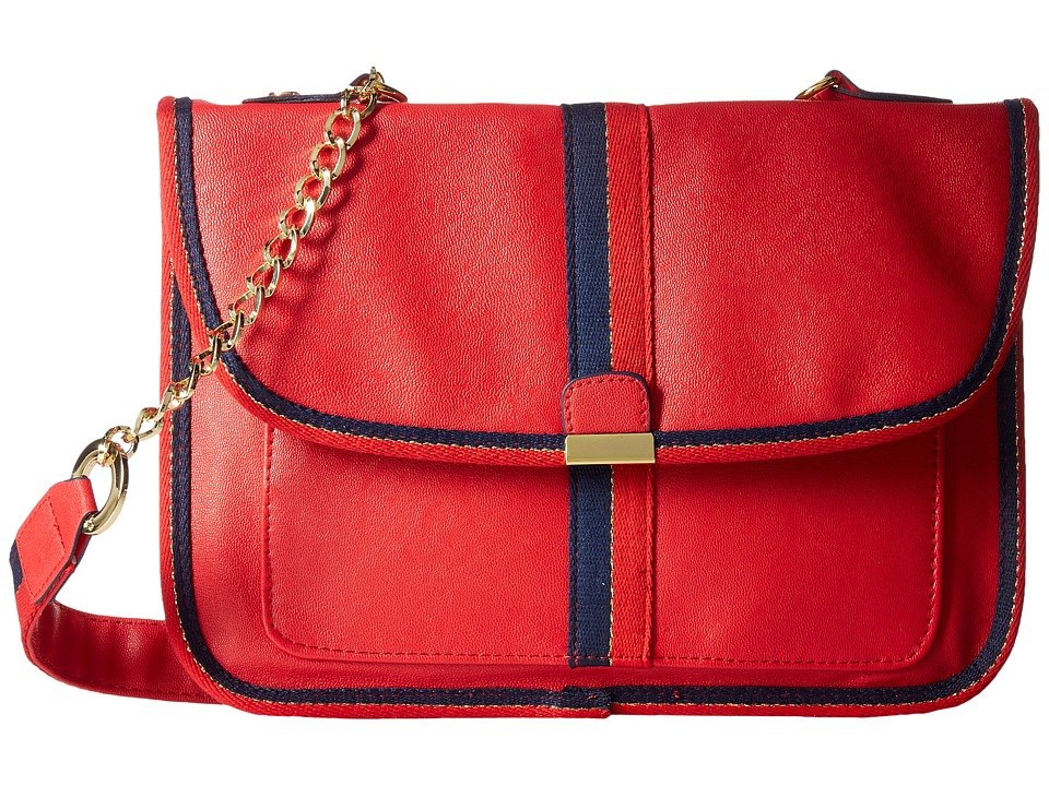 Circus by Sam Edelman - Izzy Crossbody Bag (Red/Red/Blue) Cross Body Handbags