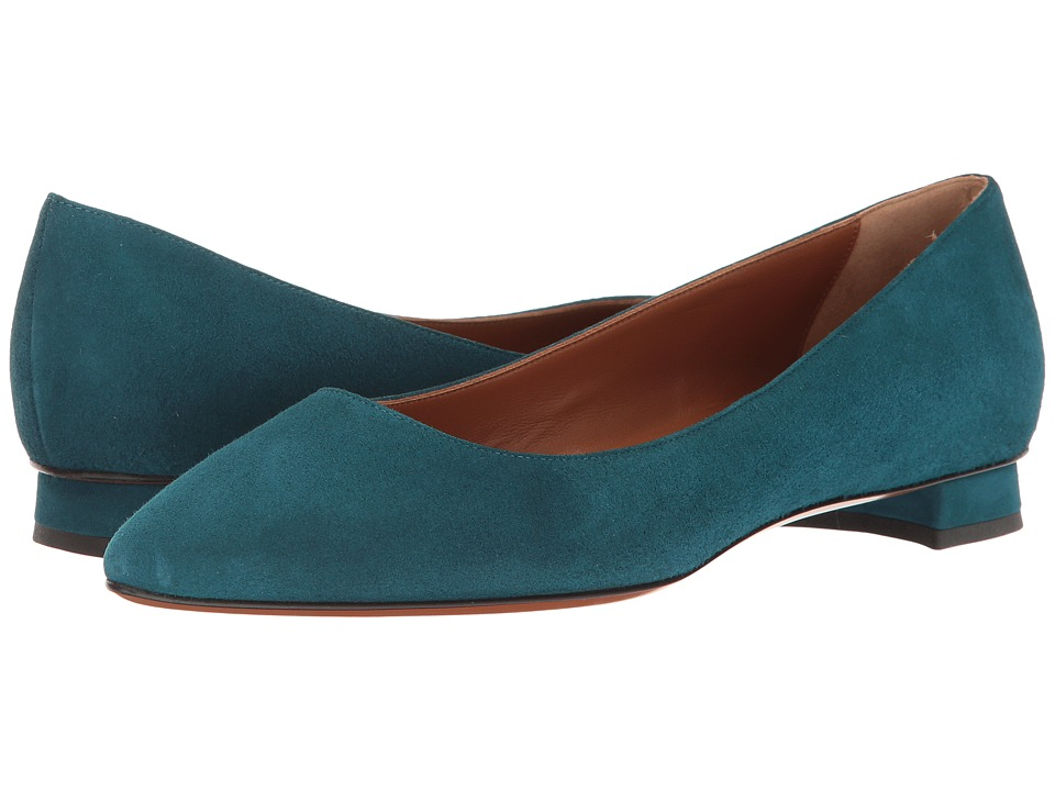 Aquatalia Perla (Peacock Suede) Women