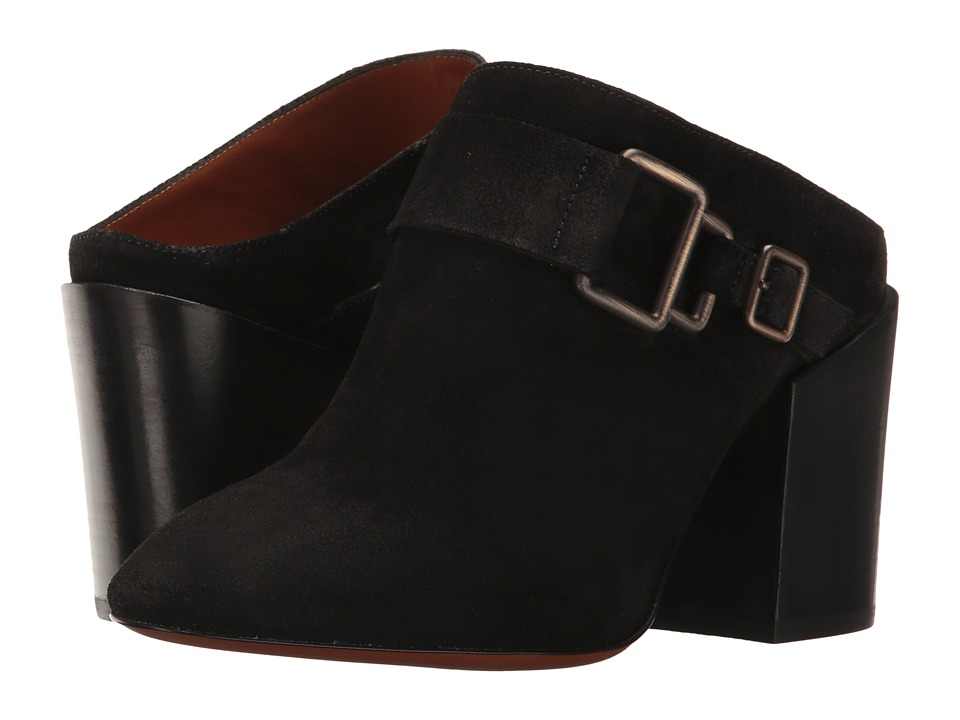 Aquatalia Francoise (Black Suede) Women