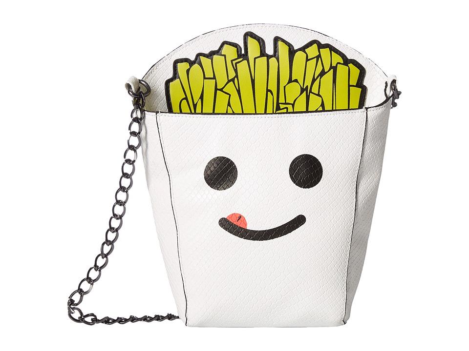Circus by Sam Edelman - Fries B4 Guys Crossbody Bag (White/Black/Screenprinted) Cross Body Handbags
