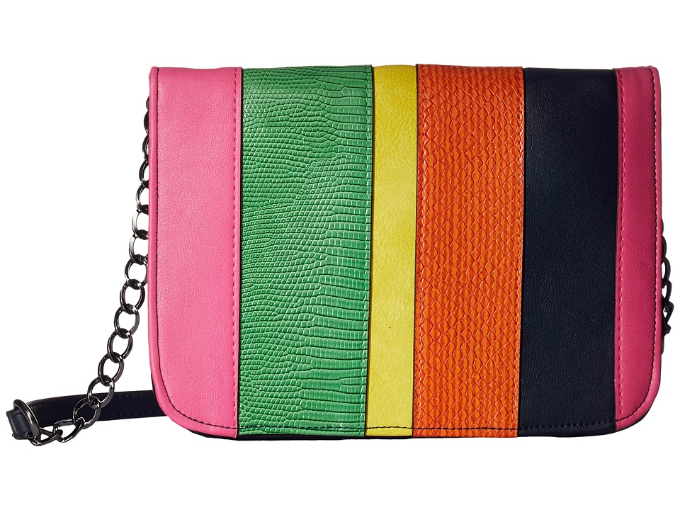 Circus by Sam Edelman - Leya Crossbody Bag (Navy/Pink/Green/Yellow/Orange) Cross Body Handbags