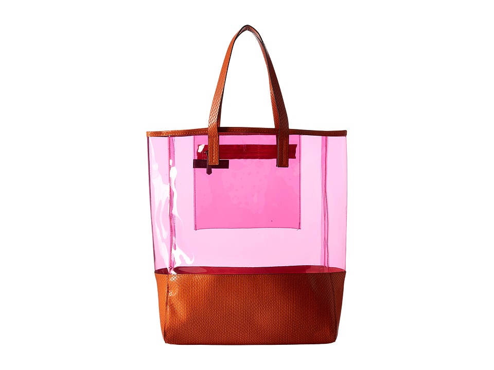 Circus by Sam Edelman - Adely Tote (Orange/Pink) Tote Handbags