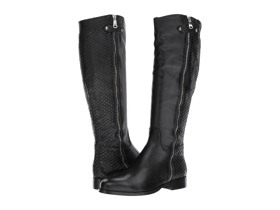 Cordani Blakely (Black Leather/Python) Women