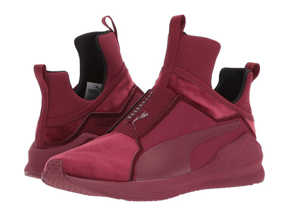 PUMA Fierce Velvet (Cordovan) Women
