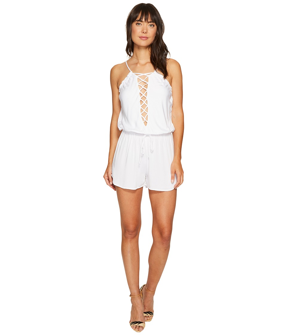 Young Fabulous & Broke - Delano Romper (White) Women's Jumpsuit & Rompers One Piece