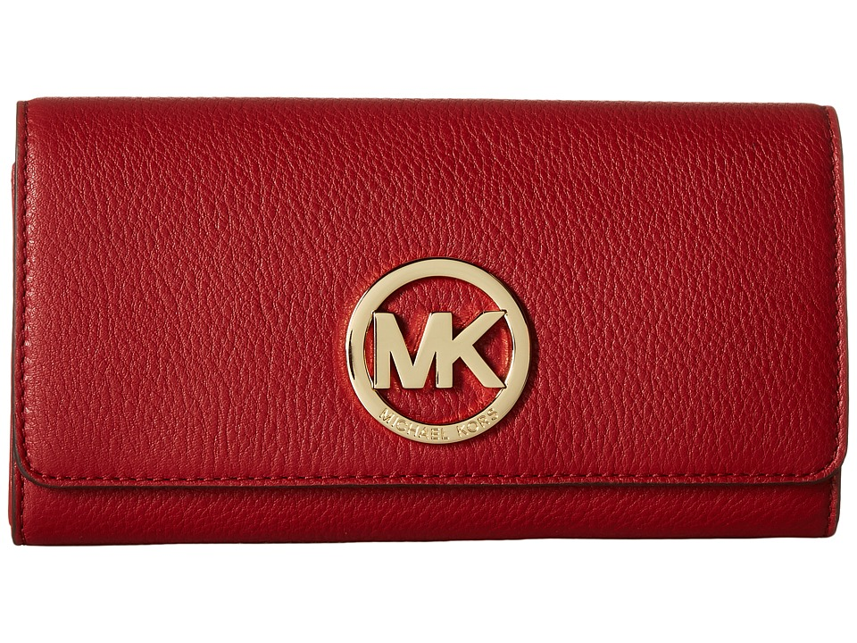 MICHAEL Michael Kors - Fulton Carryall (Burnt Red) Clutch Handbags