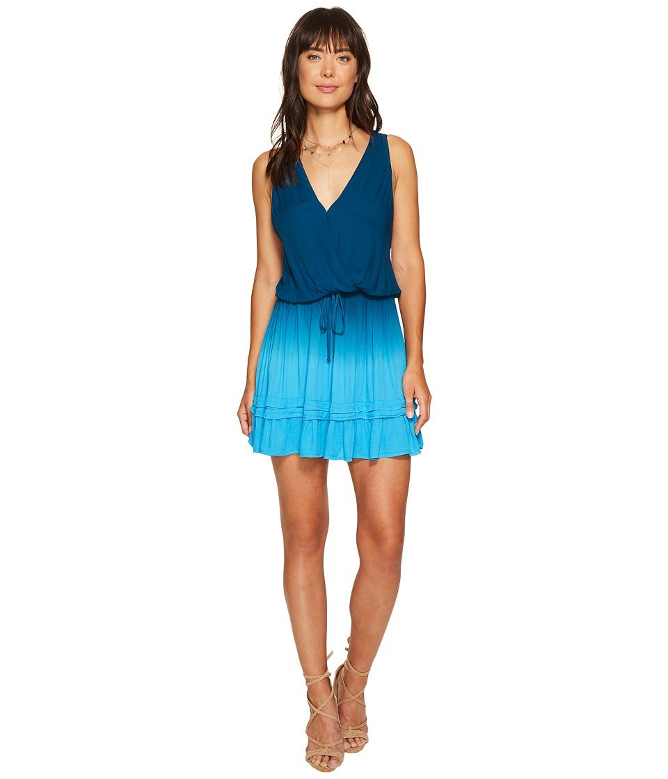 Young Fabulous & Broke Nadine Dress (Pool Blue/Ombre) Women