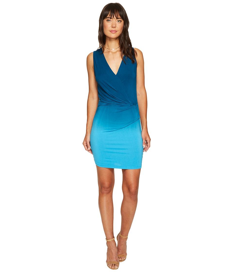 Young Fabulous & Broke - Karenna Dress (Pool Blue/Ombre) Women's Dress