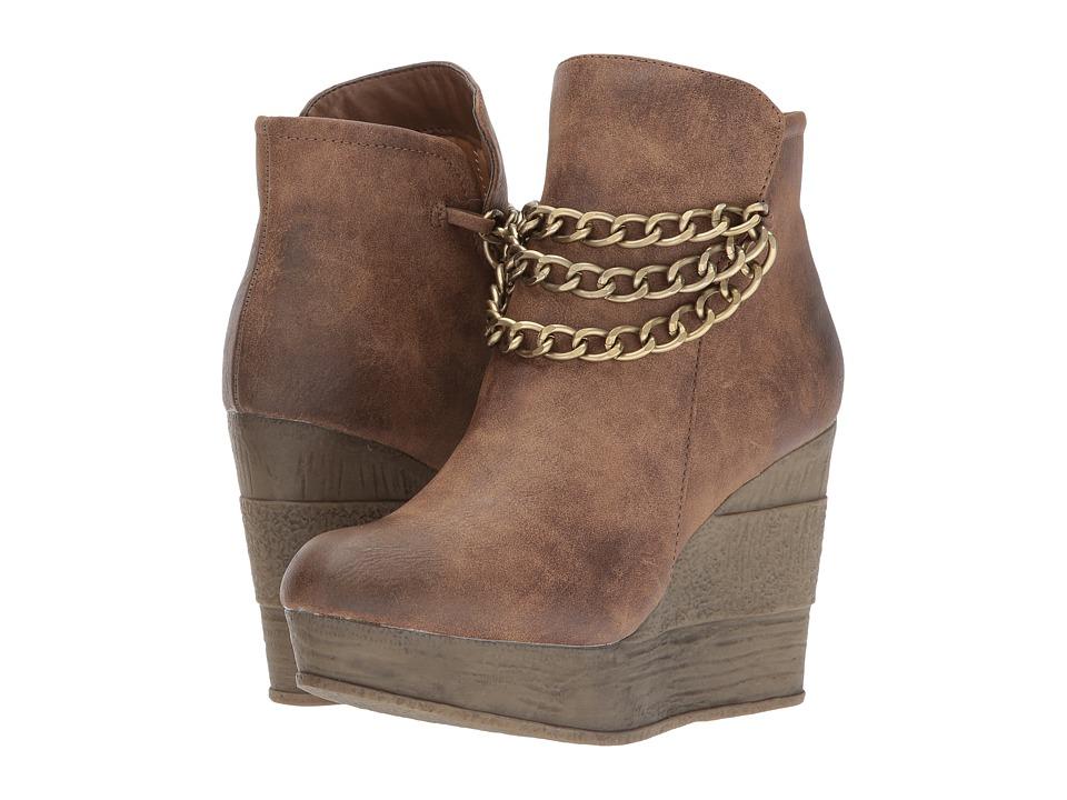 Sbicca - Chandelier (Tan) Women's Boots