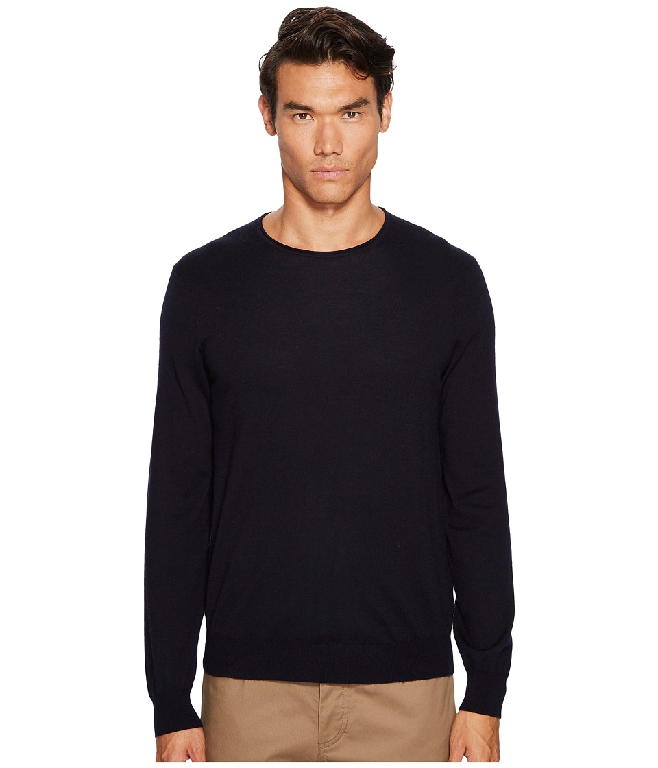 Vince Crew Neck Sweater (Coastal Blue) Men