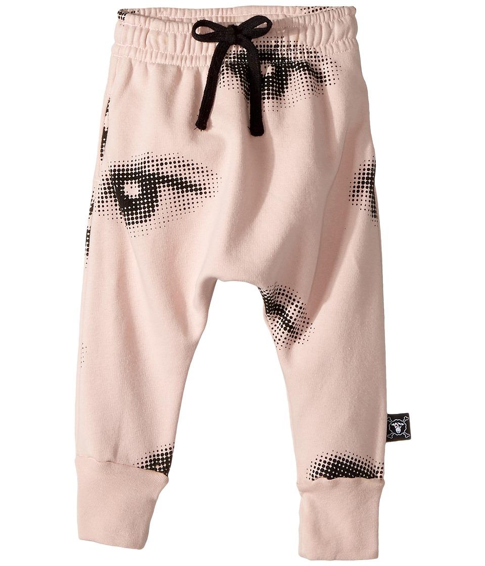 Nununu - Eye Baggy Pants (Infant/Toddler/Little Kids) (Powder Pink) Girl's Casual Pants
