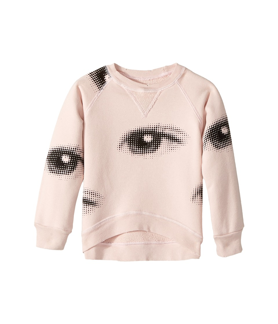 Nununu - Eye Sweatshirt (Infant/Toddler/Little Kids) (Powder Pink) Girl's Sweatshirt