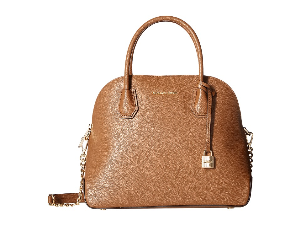 MICHAEL Michael Kors - Mercer Large Dome Satchel (Luggage) Satchel Handbags