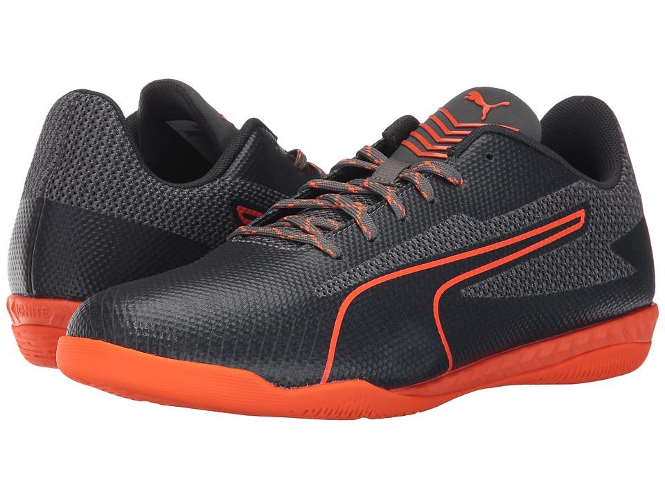 PUMA - 365 Netfit CT (Quiet Shade/Shocking Orange/Asphalt-Quarry) Men's Shoes