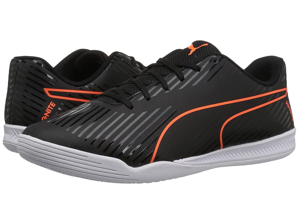 PUMA - evoSPEED Star S2 Ignite (Puma Black/Shocking Orange/Quiet Shade/Puma White) Men's Shoes