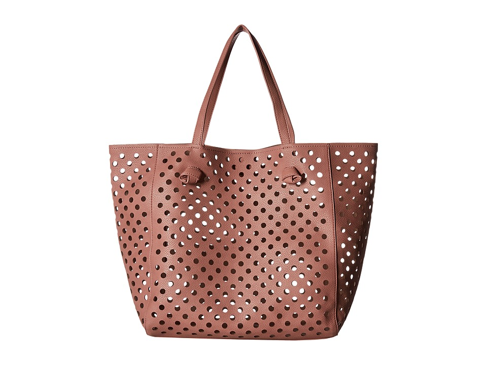 Deux Lux - Shoreline Tote (Blush) Tote Handbags