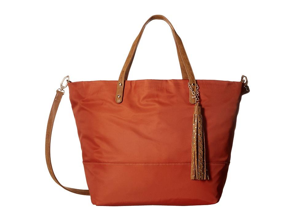 Deux Lux - Linden Tote (Pumpkin) Tote Handbags
