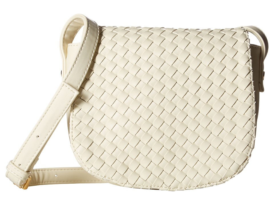 Deux Lux - Haven Saddle Bag (Ivory) Shoulder Handbags