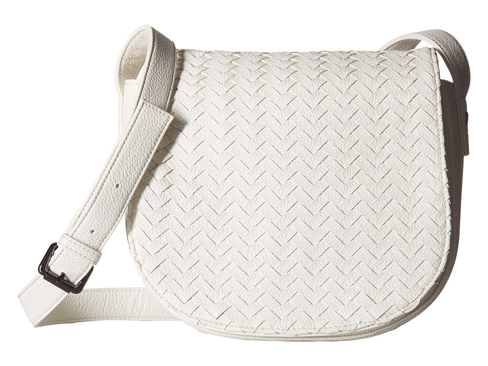 Deux Lux - Crosby Saddle Bag (White) Shoulder Handbags