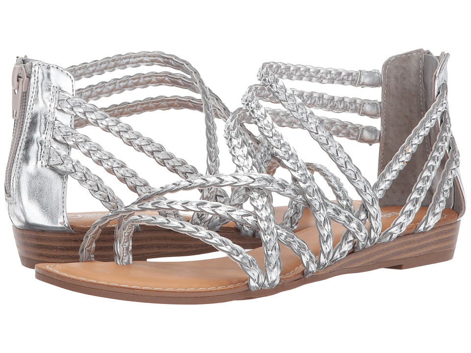 CARLOS by Carlos Santana - Amarillo (Silver) Women's Shoes