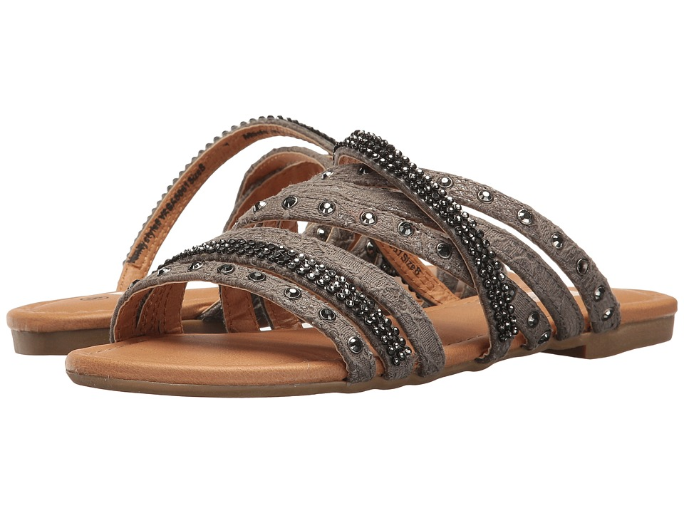 Not Rated - Pandora (Pewter) Women's Dress Sandals