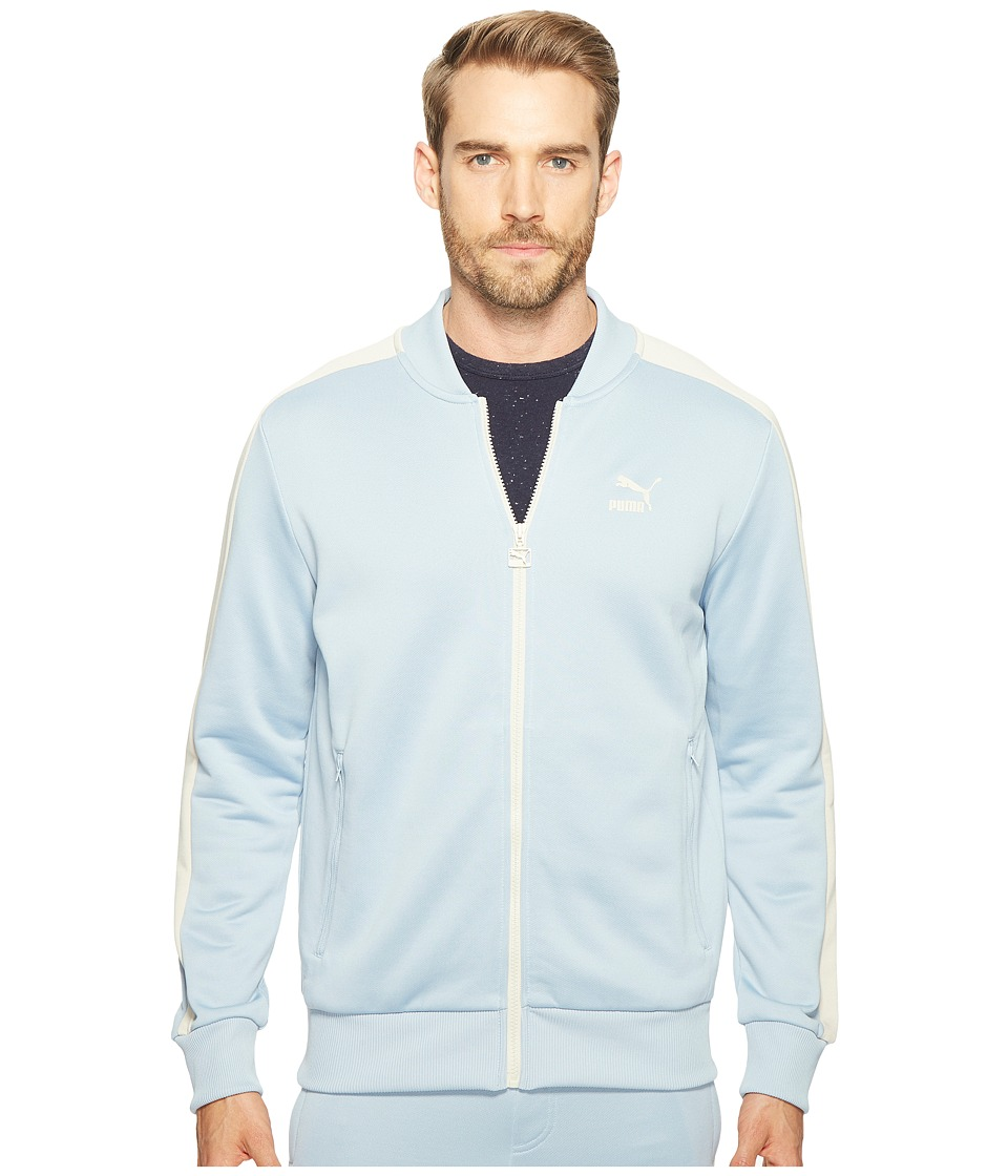 PUMA - T7 Bomber Jacket (Blue Fog) Men's Coat