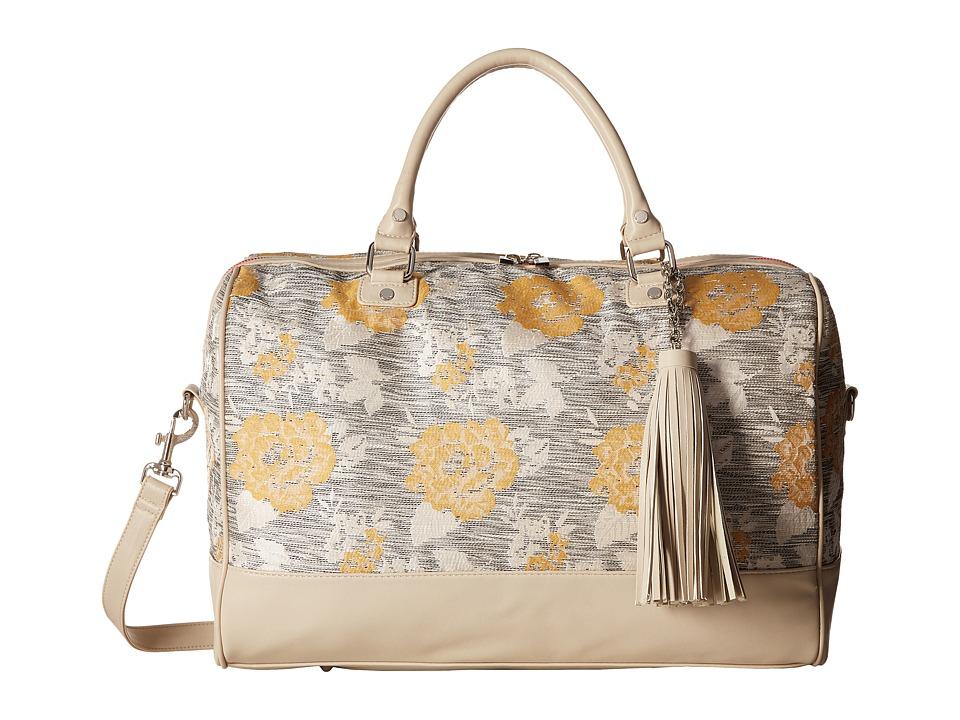 Deux Lux - Playa Weekender (Ivory) Weekender/Overnight Luggage