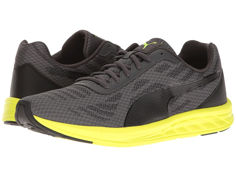 PUMA Meteor (Asphalt/Puma Black/Safety Yellow) Men