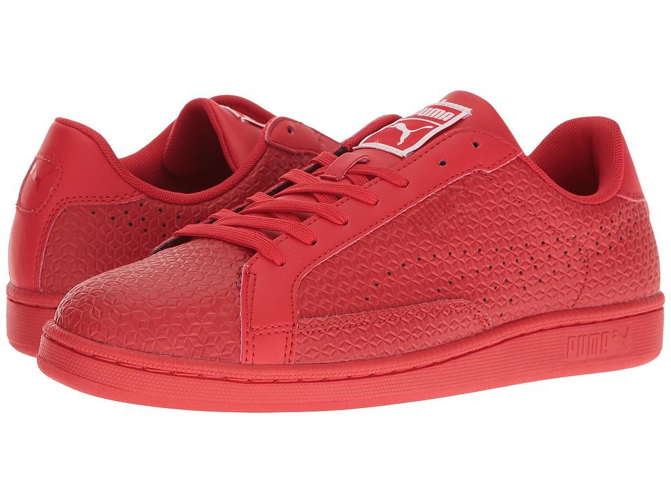 PUMA - Match Emboss (High Risk Red) Men's Shoes