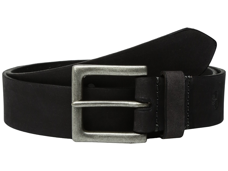 Timberland - 38mm Wheat Belt (Black) Men's Belts