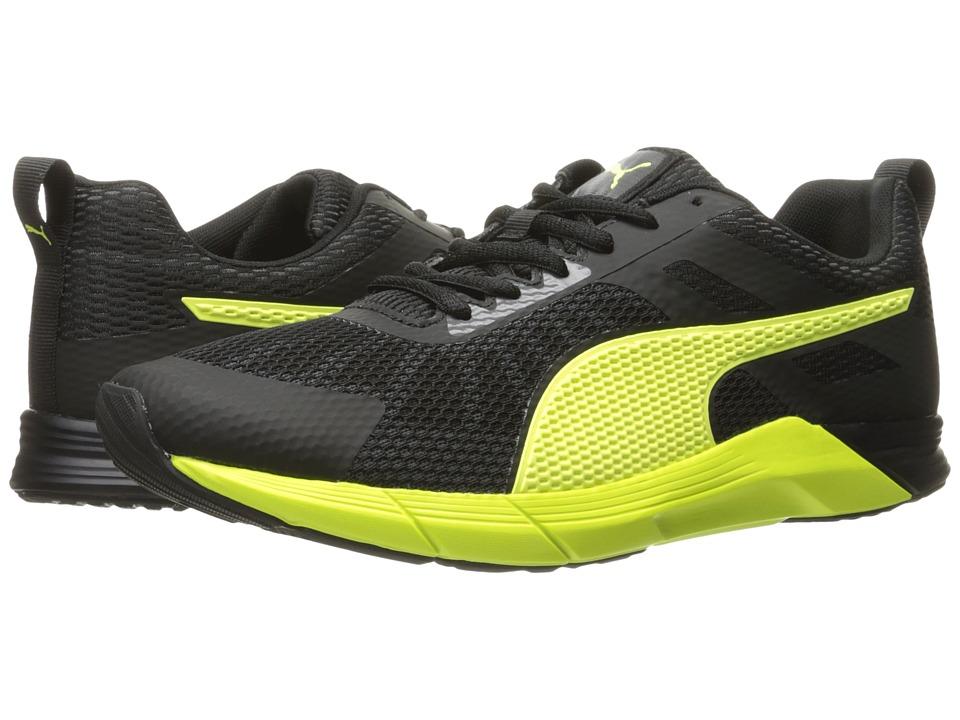 PUMA Propel (Puma Black/Safety Yellow) Men
