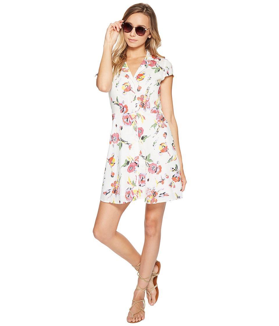 Obey Desi Dress (Cream Multi) Women
