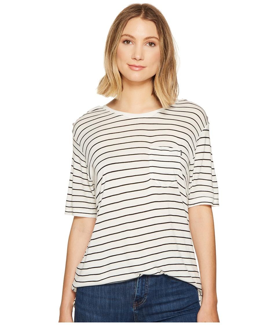Obey - Borrowed Top (Bone Multi) Women's Short Sleeve Pullover
