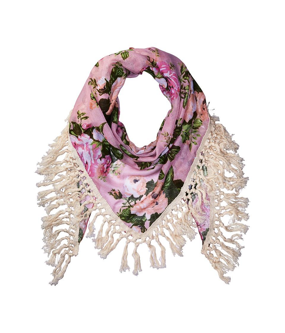 Steve Madden - Keep Blooming Oversize (Blush) Scarves