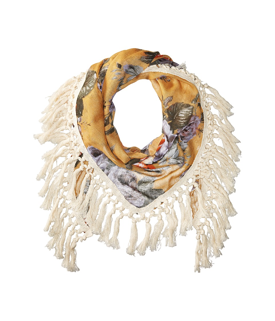 Steve Madden - Keep Blooming Oversize (Tan) Scarves