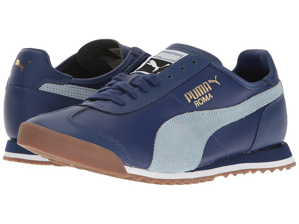 d65072509ecd03 Puma - Roma Og 80S (Twilight Blue Blue Fog) Men S Shoes
