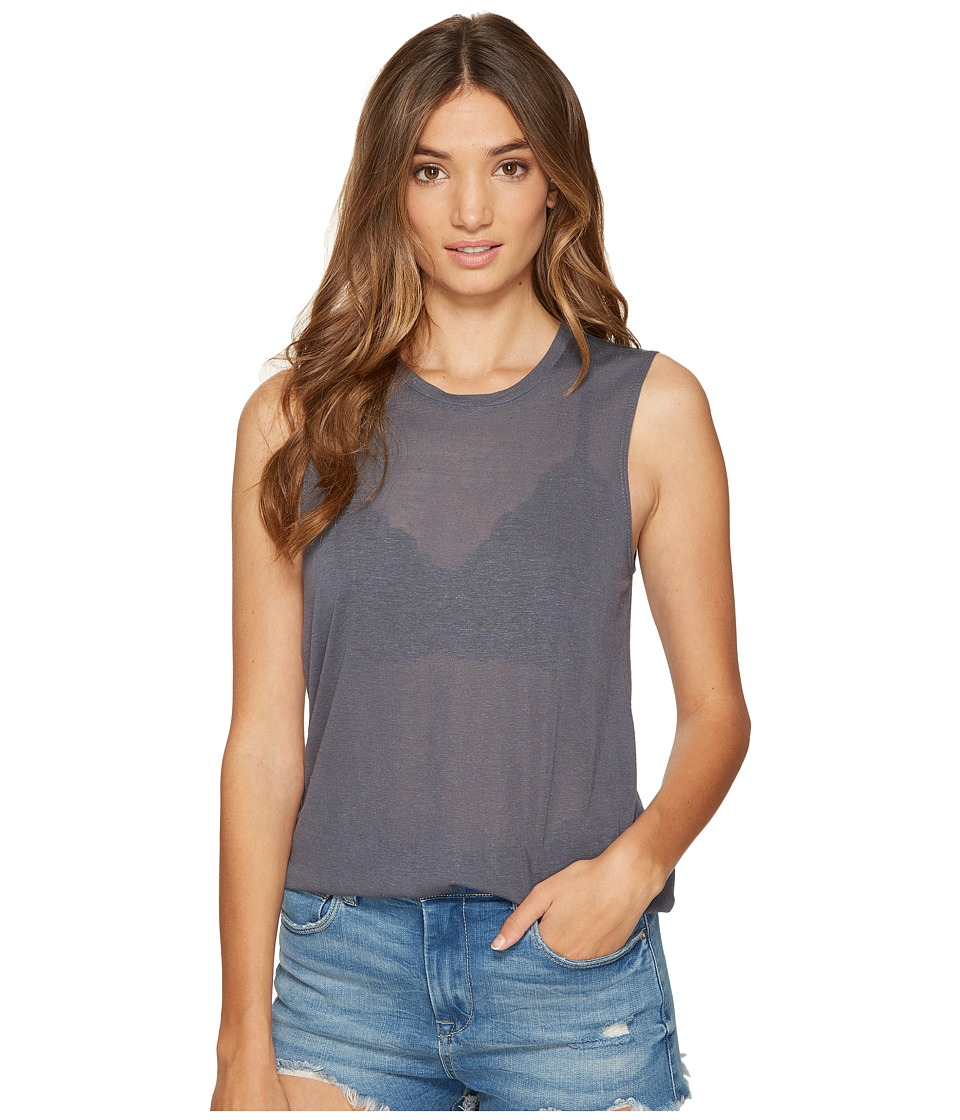 Obey - Kinsley Tank Top (Dusty Navy) Women's Sleeveless